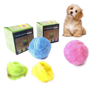 New! Fluffy Magic Roller Ball Dog Toy Cat Toy
