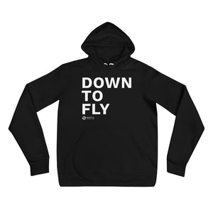Down to Fly Unisex Hoodie