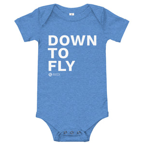 Down to Fly Baby Onesie