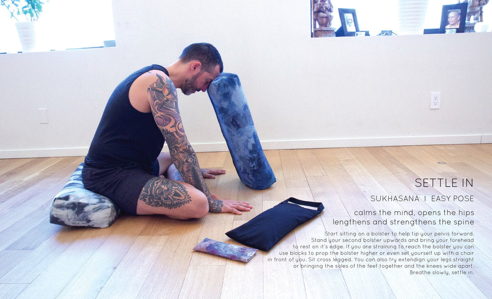 David Good + Samyoga  I  How to practice restorative yoga at home