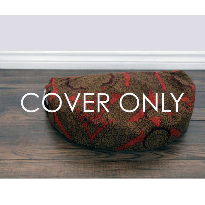 Meditation Cushion - Red Morris - COVER ONLY