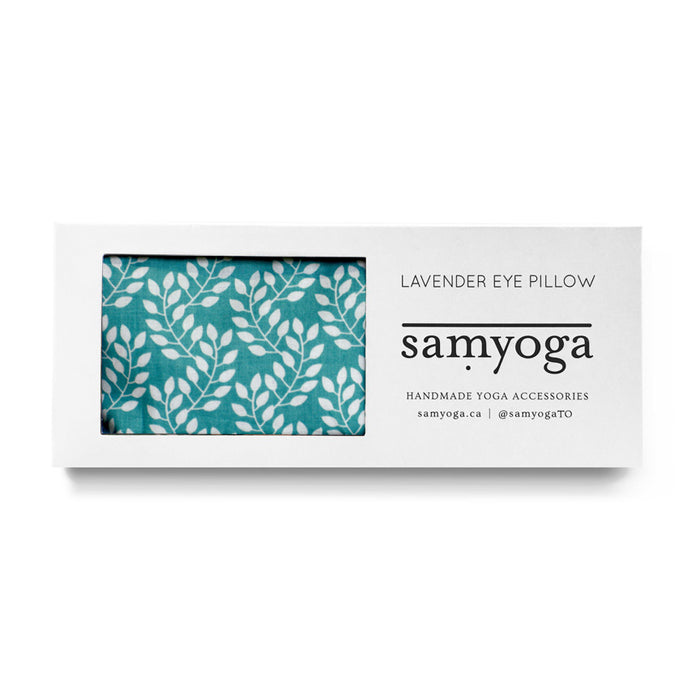 Lavender Eye Pillow - Blue Motif