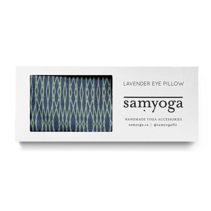 Lavender Eye Pillow - Sea + Seafoam