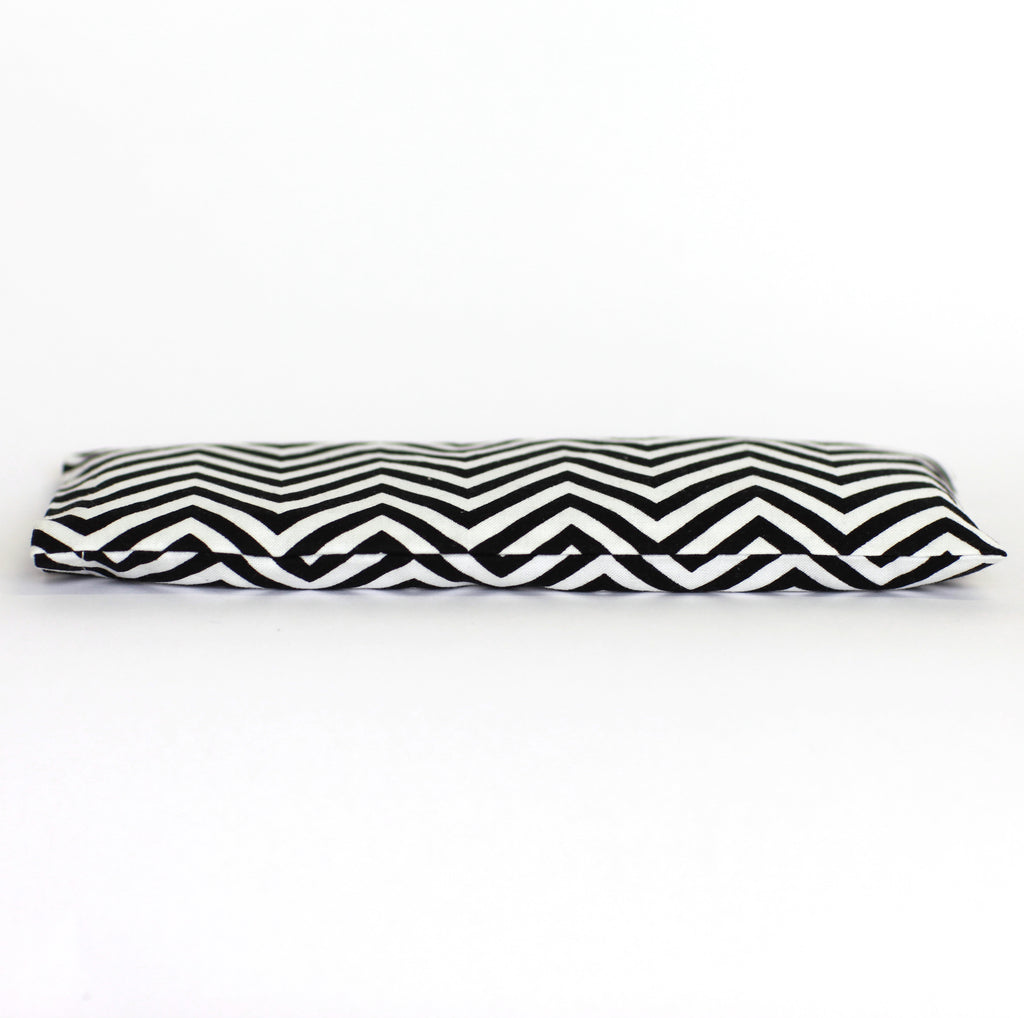 Lavender Eye Pillow - Black + White