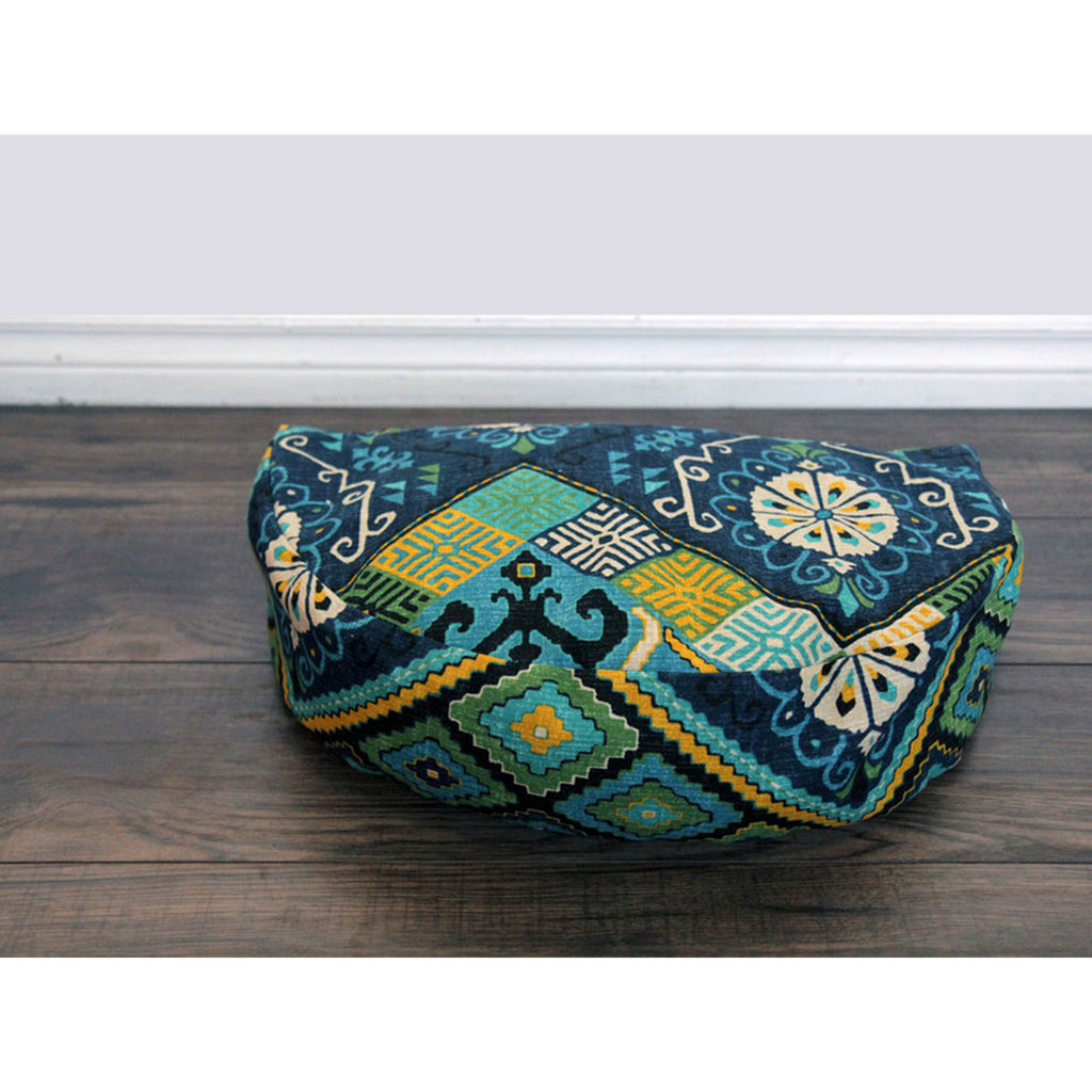 Meditation Cushion - Flores - COVER ONLY