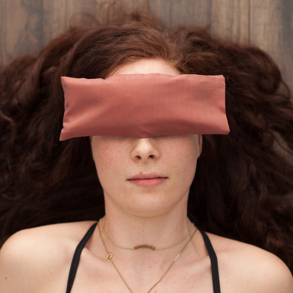 Lavender Eye Pillow - Red