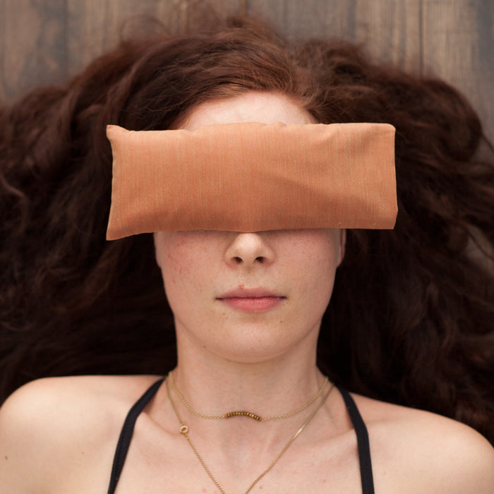 Lavender Eye Pillow - Orange