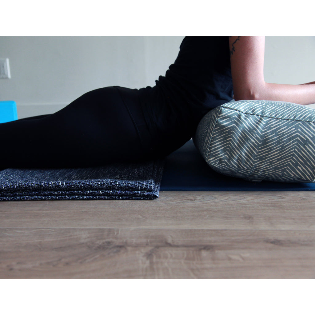 Yoga Bolster - Wave - COVER ONLY