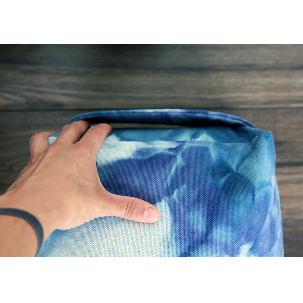 Yoga Bolster - Hand Dyed Sea Change