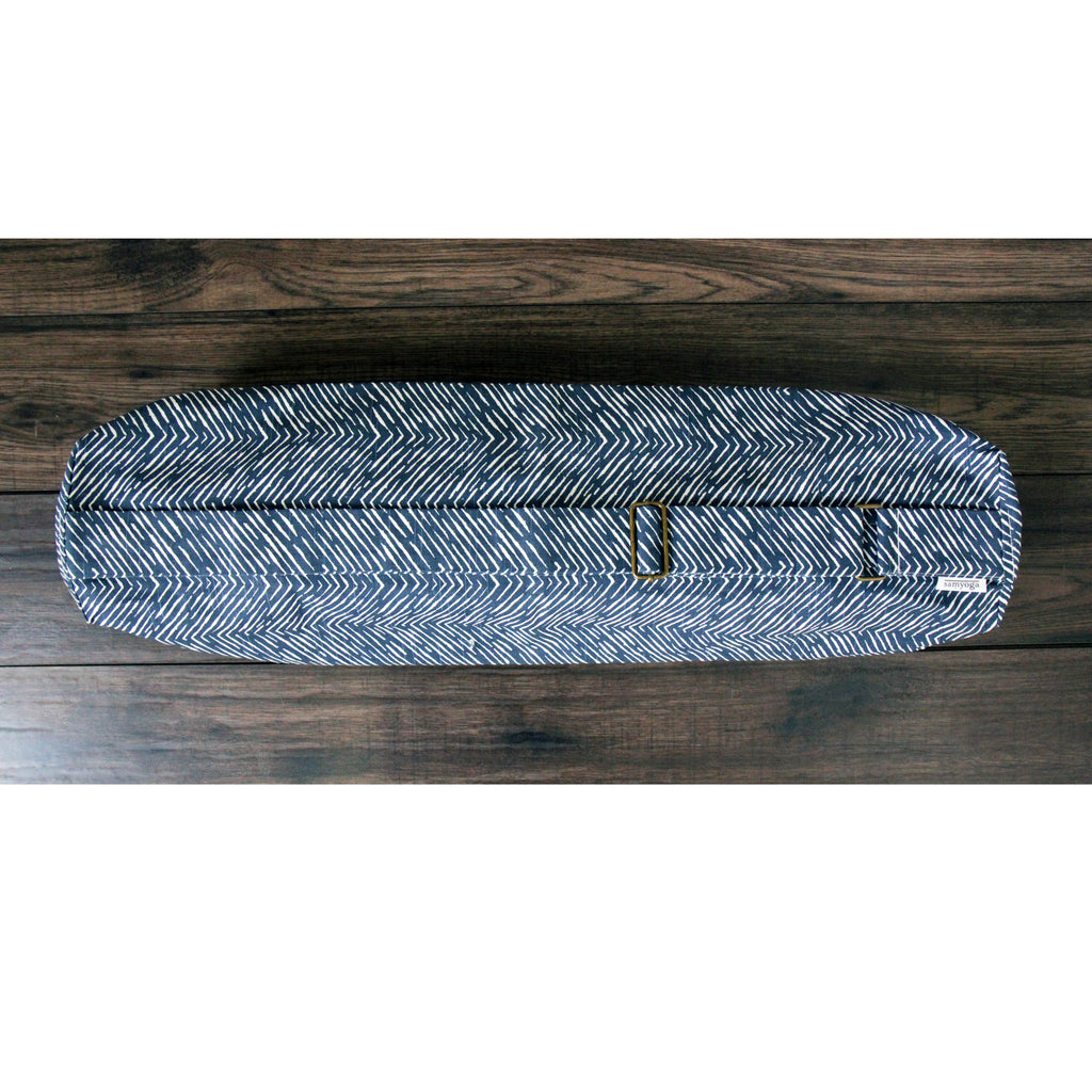 Yoga Mat Bag - Navy Arrow