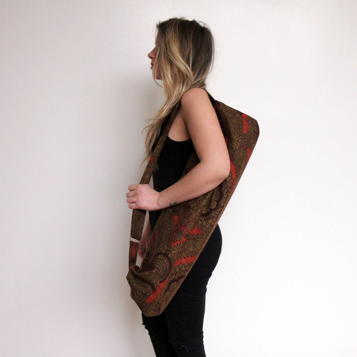 Yoga Mat Bag - Red Morris