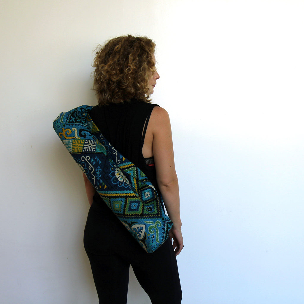 Yoga Mat Bag - Flores