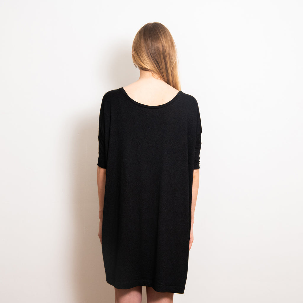 Sama Shift Dress - Black