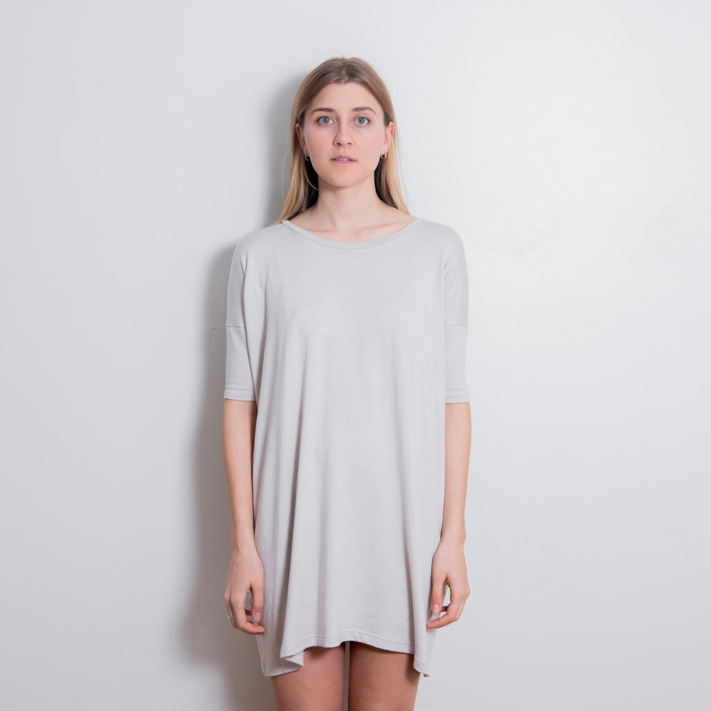 Sama Shift Dress - Oyster