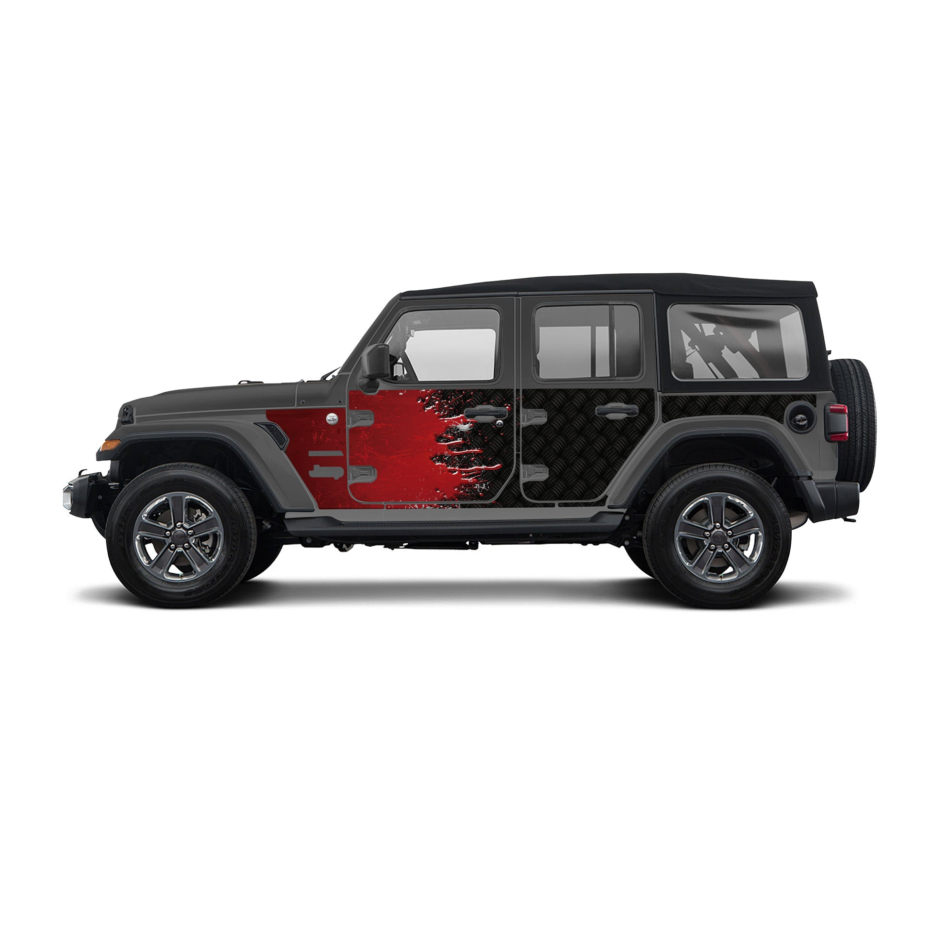 2018-Current Jeep JL/JLU Trail Scales Package