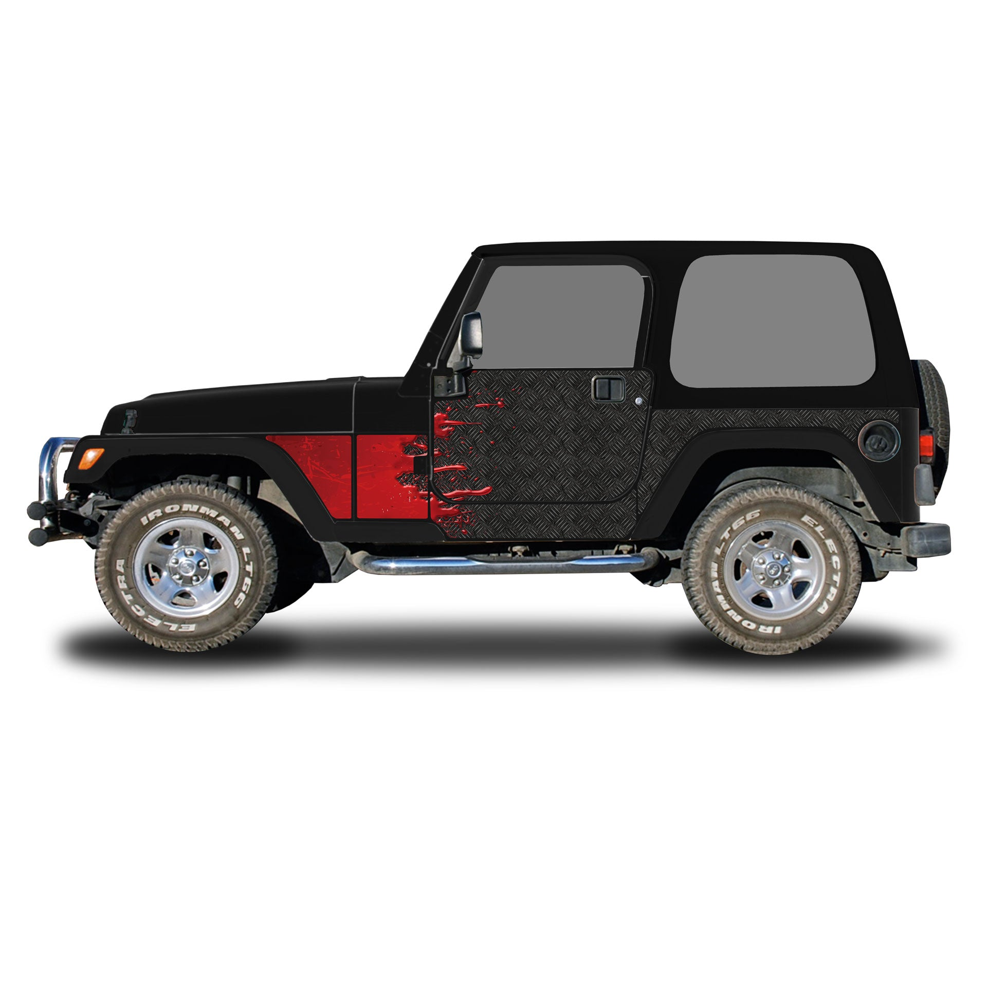 1996-2006 Jeep TJ Trail Scales Package