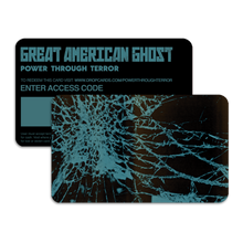 "Load image into Gallery viewer, Great American Ghost - ""Power Through Terror"" (Pre-Order)"