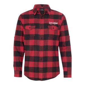 "Left Behind ""West By God"" Flannel"