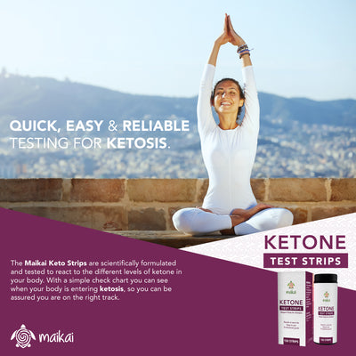 Ketone Testing Strips for Ketosis, Diabetics, Paleo, Low Carb and the Ketogenic Diet, 150 Strips