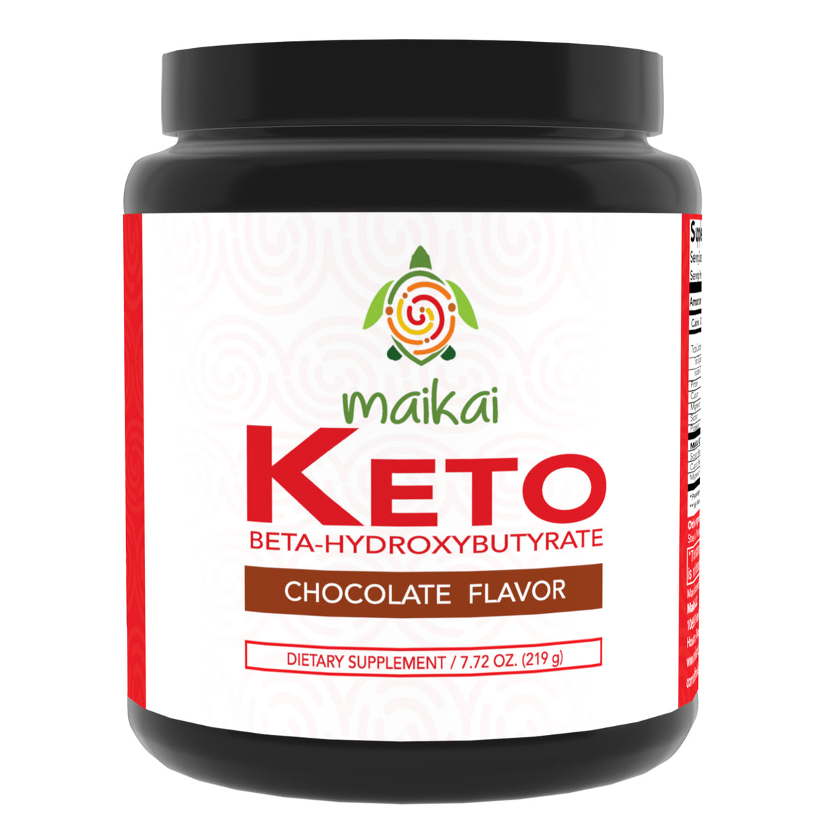 Keto Powder - Exogenous Ketones Supplement (BHB) - Ideal for Ketosis Diet, Fat Burning, Performance & Focus