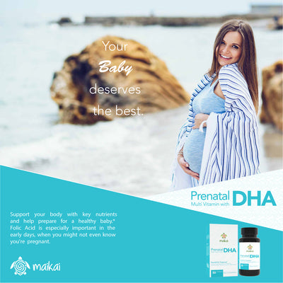 Prenatal DHA with Multi Vitamin and Folic Acid - 30 Softgels