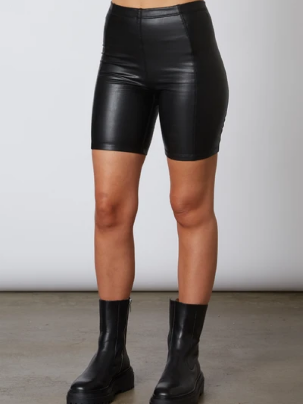 Faux Leather Bikers