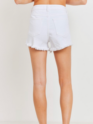 Madison Shorts - White Denim