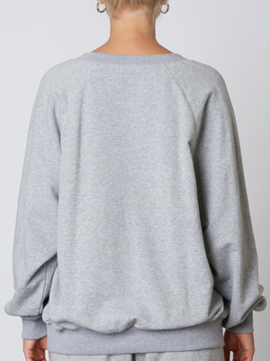 Notched Sweatshirt