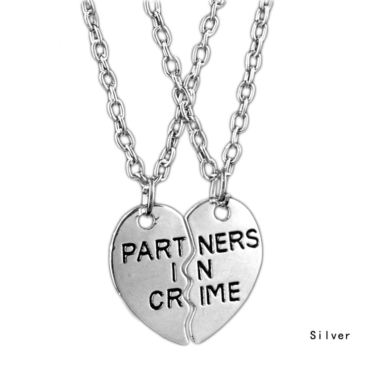 friendship partner fusicase gift friends in pendent necklaces necklace amazon heart com love crime metal for dp