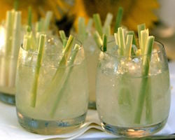 Nice recipe : Lemongrass & Shoreline Gin
