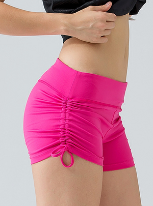 Pulling Seam Yoga Shorts