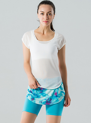 Simply Mesh Yoga T-shirt