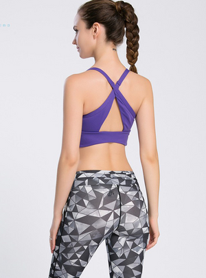 Crossed Strapped Ultra-Hold Yoga Tank