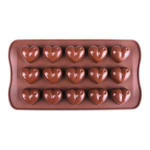 Heart Shape Chocolate Moulds
