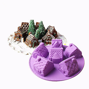 Small House Cake Mould