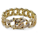 Paved Miami Cuban Link Bracelet *NEW*