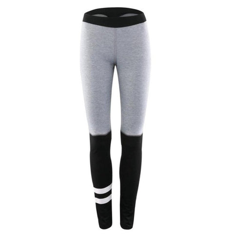 Womens Fitness Workout Mid Waist Leggings