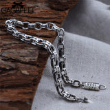 Men's Sterling Silver Luxury Chain Bracelet