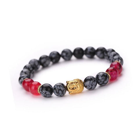 Multi color Buddha Bracelet