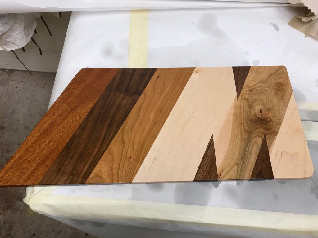 M Cutting Board-SOLD (will make similar upon request)