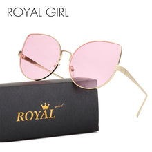 ROYAL GIRL Cool Cat Eye Sunglasses Ombre Summer Glasses