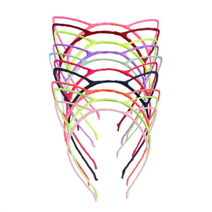 Cute Cat Ear Headband Hair Hoop Headpiece for Party Daily Hairstyle Decoration