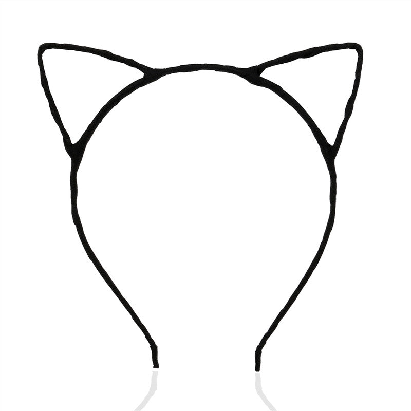 PIXNOR Cute Fancy Dress Costume Party Cat Ears Wired Headband