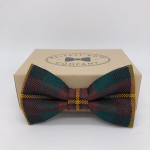 County Monaghan Tartan Bow Tie by the Belfast Bow Company