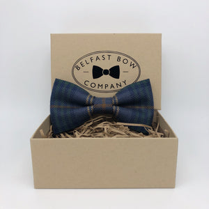 County Fermanagh Ulster Tartan Bow Tie by the Belfast Bow Company