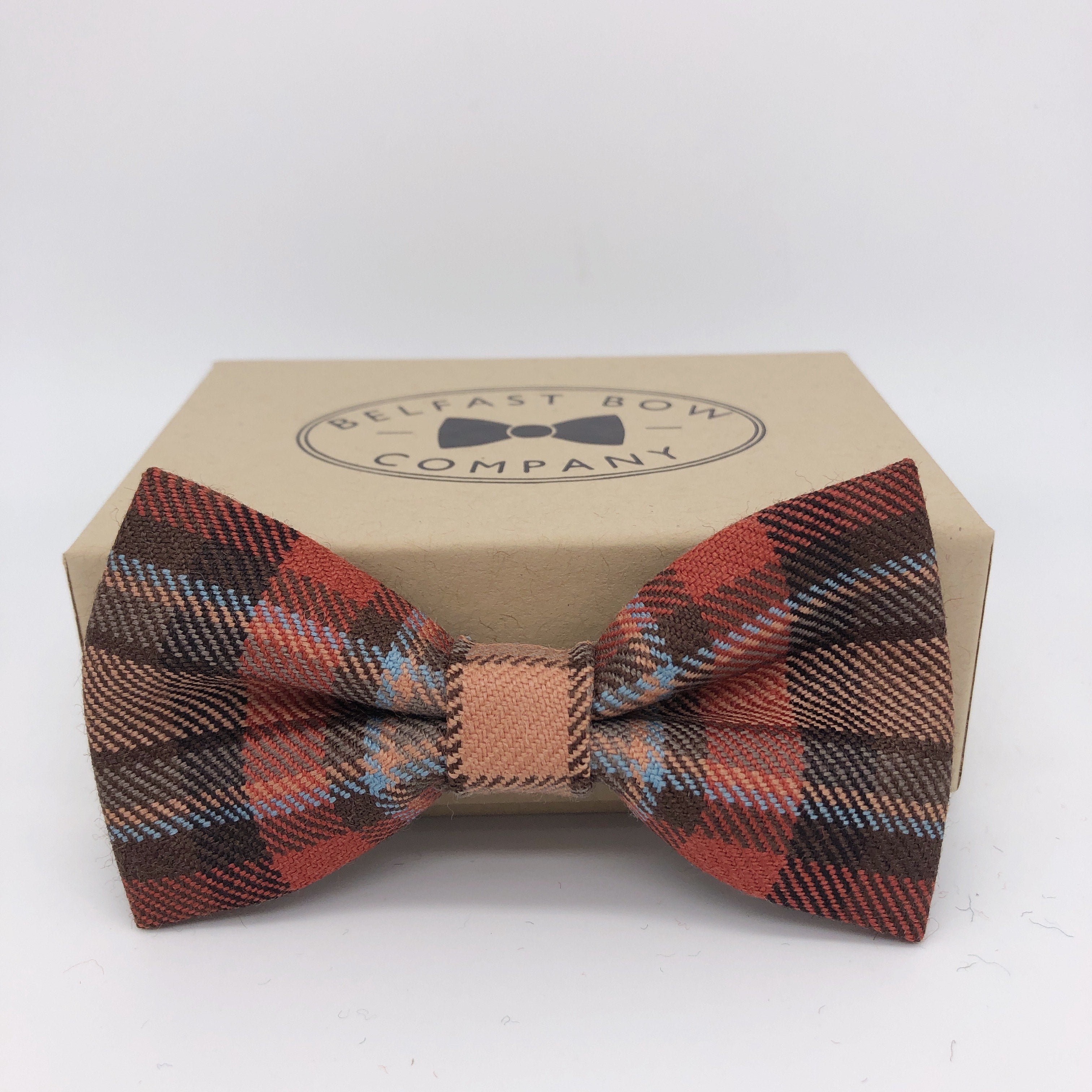 County Down Tartan Bow Tie by the Belfast Bow Company