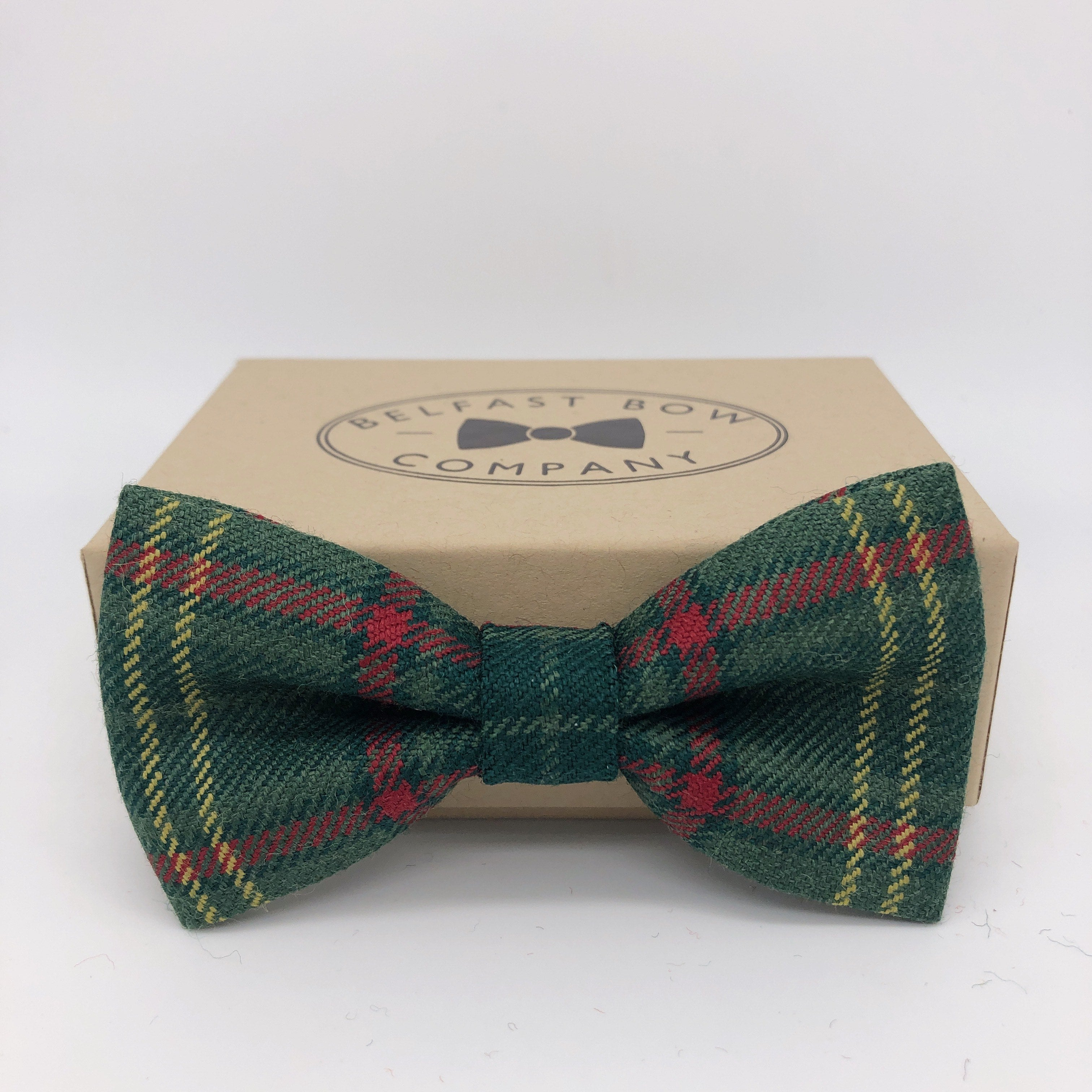 County Armagh Tartan Bow Tie by the Belfast Bow Company