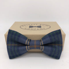 County Fermanagh Tartan Bow Tie by the Belfast Bow Company