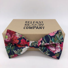 Liberty of London Bow Tie in Poppy by the Belfast Bow Company