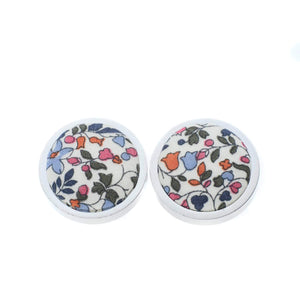 Liberty of London Cufflinks in Ditsy Floral by the Belfast Bow Company Gift Boxed